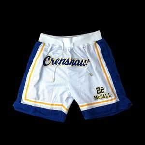Other - Quincy McCall Crenshaw White Basketball Shorts